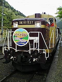トロッコ列車…