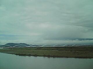 富士川にて…