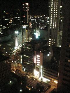 大阪の夜…