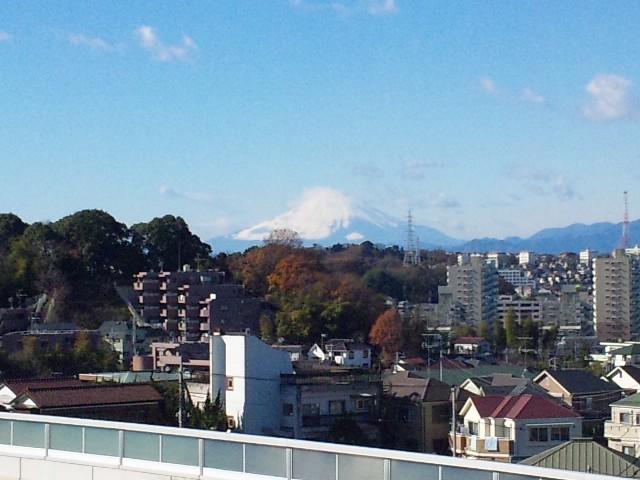今日の富士山…