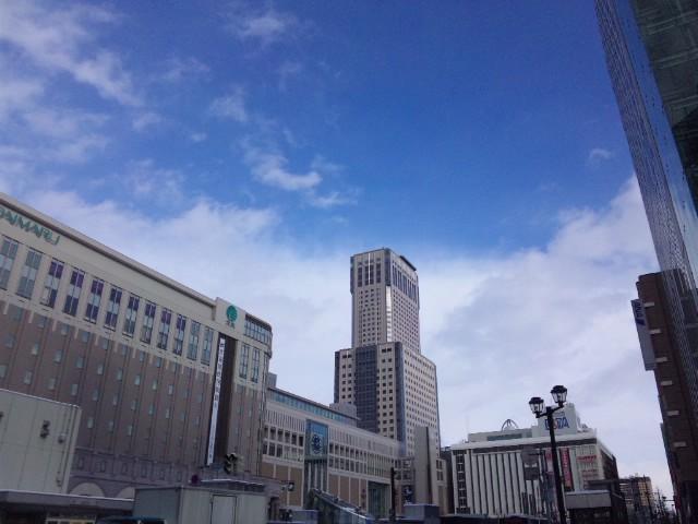 札幌到着…