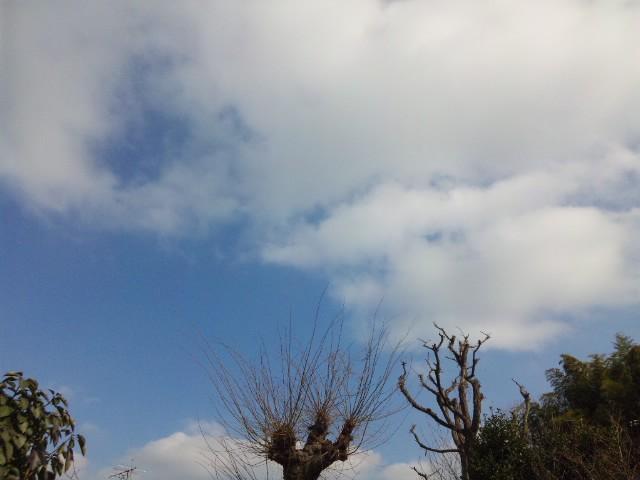 天候回復…