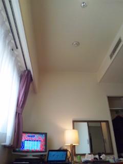 ホテルにて…