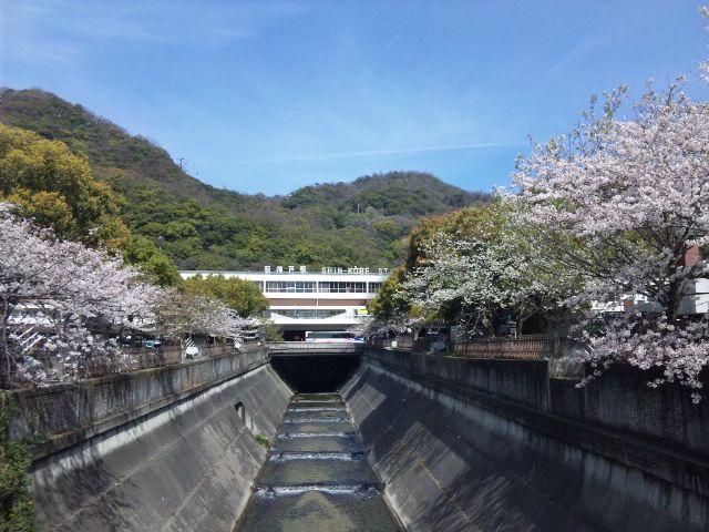 新神戸界隈…