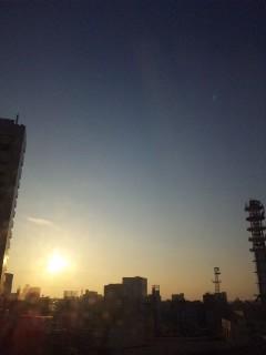 仙台の朝…