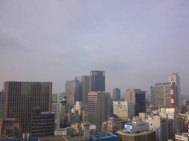 大阪の朝(帰る日)…