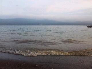 山中湖にて―5…