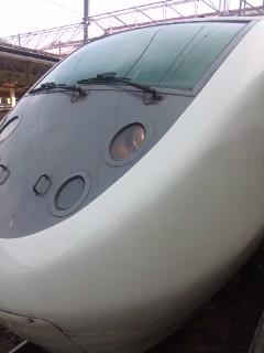 越後湯沢駅にて…