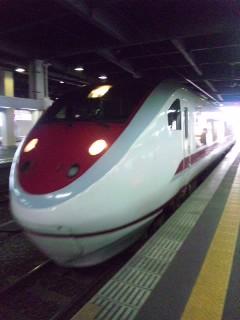 越後湯沢で乗り換え…