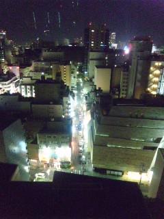 名古屋の夜…