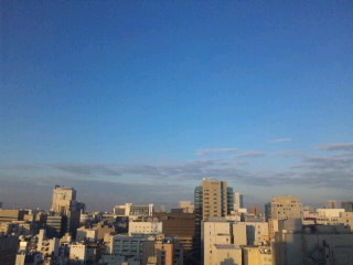名古屋の朝(二日目)…
