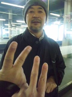 札幌駅にて……
