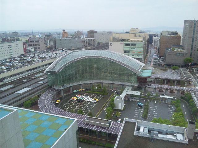 金沢の朝…