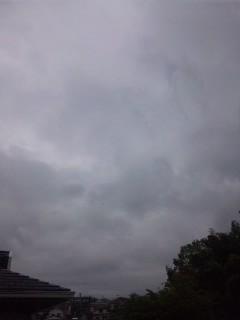 梅雨入り…