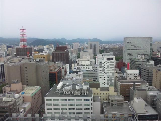 札幌の朝…