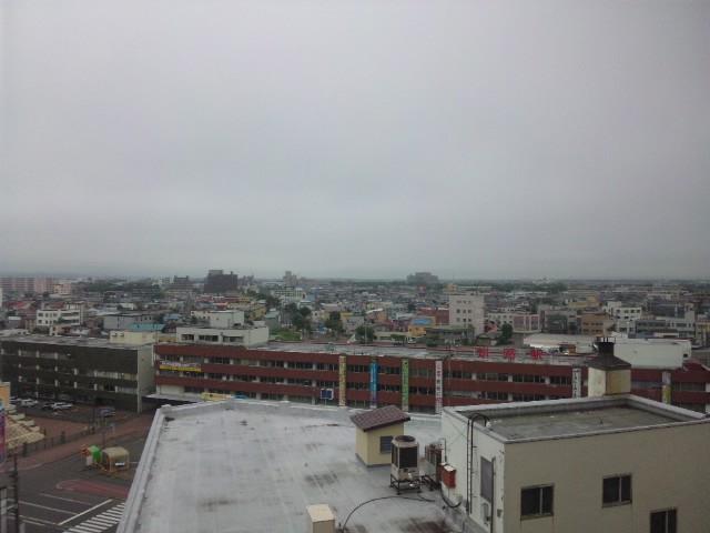 釧路の朝…
