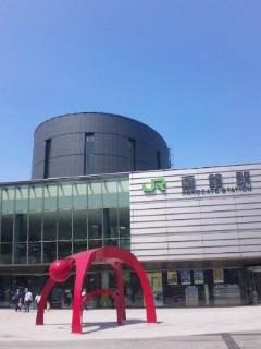 函館駅にて…
