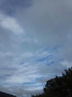 不安定な天候…