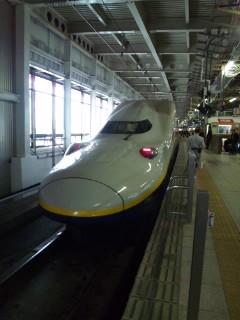 仙台駅にて…