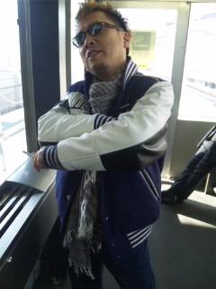 長野駅にて…