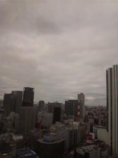 大阪の朝…