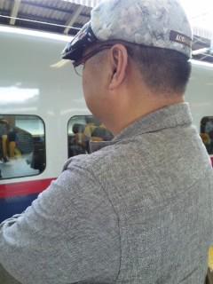東京駅にて…