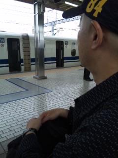 小田原駅にて…