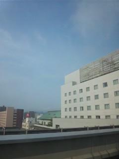 福井の朝…