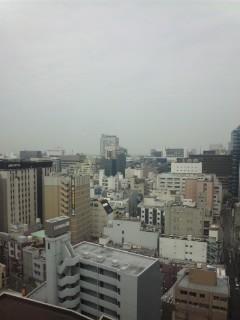 名古屋の朝(13日)…