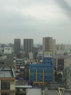 名古屋の朝(15日)…
