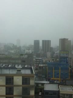 名古屋の朝(16日)…