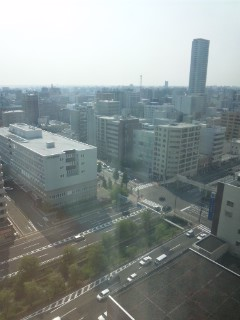 札幌の朝(29日)…