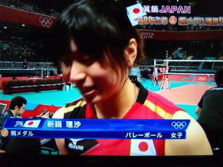 女子バレー銅メダル…