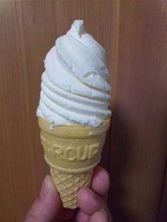 冬のアイスクリーム…