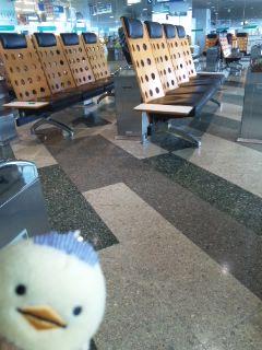 新千歳空港にて…