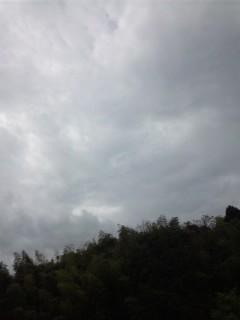 梅雨入り間近…