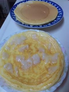 ホットケーキ…