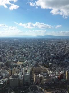 名古屋にて…