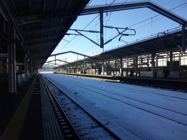 高崎駅にて…