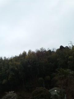雨の日曜日の朝…